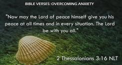 2 Thessalonians 3:16 NLT