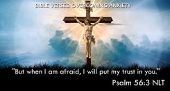 Psalm 56:3 NLT