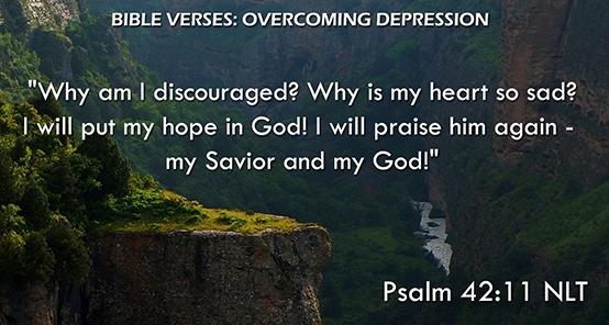 Bible Verses: Depression