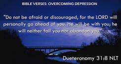 Dueteronomy 31:8 NLT