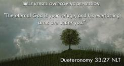 Dueteronomy 33:27 NLT