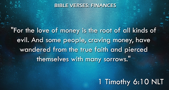 Bible Verses: Finances