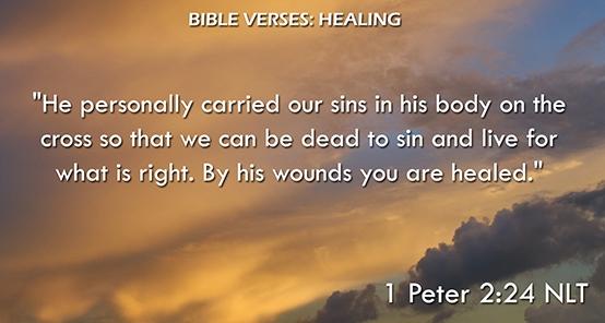 Bible Verses: Healing
