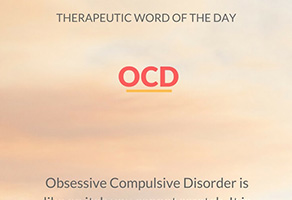 Therapeutic Word of the Day: OCD
