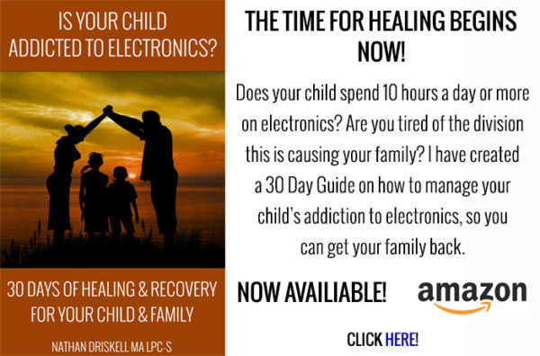 Is Your Child Addicted to Electronics? 30 Days of Healing and Recovery for your Family